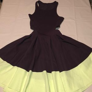 LULULEMON Away Dress in Black Cherry